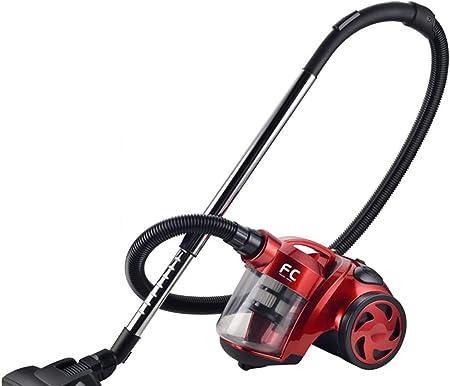 Family Care Aspirador ciclónico sin bolsa, depósito 1.8L, 700W, filtro HEPA hipoalergénico, Eficiencia energética A, color rojo-negro,: Amazon.es: Hogar