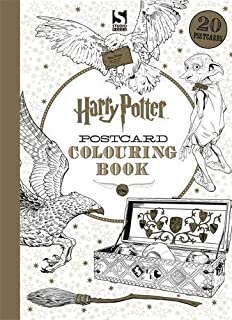 Harry Potter Postcard Colouring Book 1