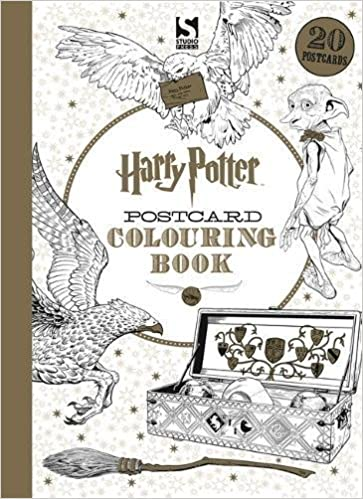 Colour By Number Harry Potter : Harry potter postcard colouring book 1: amazon.co.uk: warner
