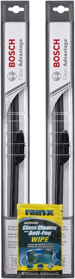 2 Pack Bosch 20 Clear Advantage Beam Wiper Blade