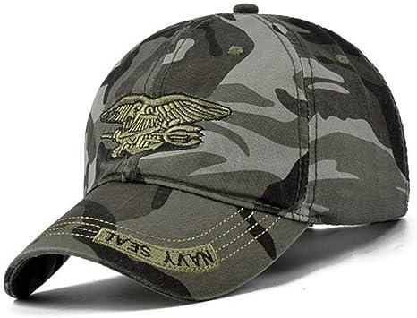 CC&Kaes Gorra de Beisbol Nuevos Hombres Navy Seal Hat Gorras ...
