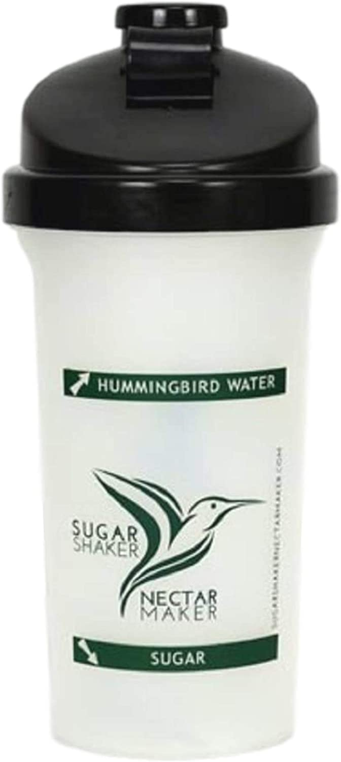 Sugar Shaker Nectar Maker 20 OZ Bottle | Hummingbird Nectar Easy Mix Bottle for Filling Hummingbird Feeders Quickly | Powder Nectar Mix for Hummingbirds Has Never Been Easier