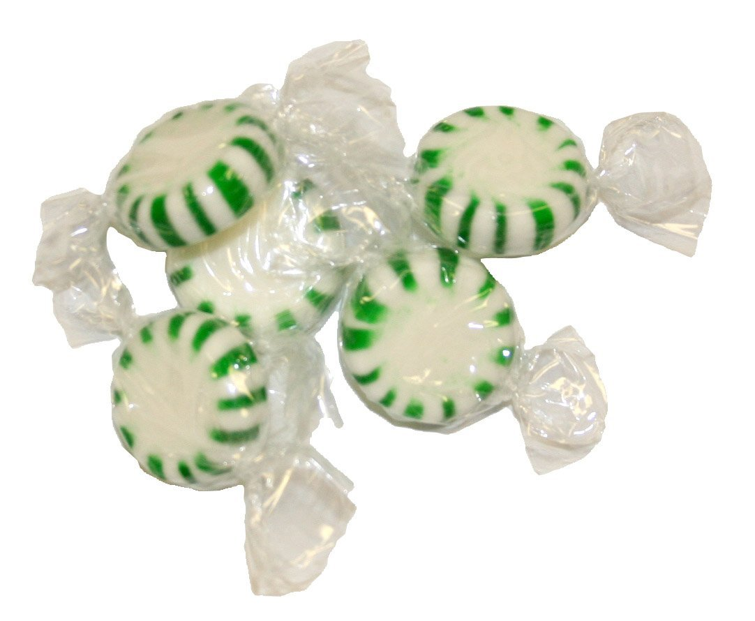 Ferrara Spearmint Starlight Mints, 25 Pound Bulk Candy Bag