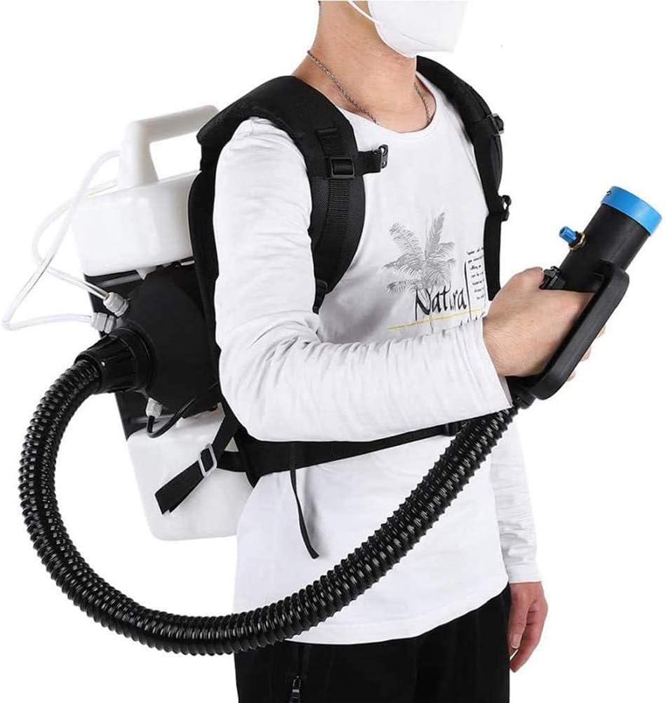 ZFAZF Pulverizador Eléctrico ULV, Máquina de Nebulización Agrícola Portátil, Desinfección del Medio Ambiente Distancia de Pulverización 6-8M, 10L