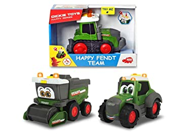 Dickie Toys 203812005 Happy Fendt Team - Coches de Juguete para ...