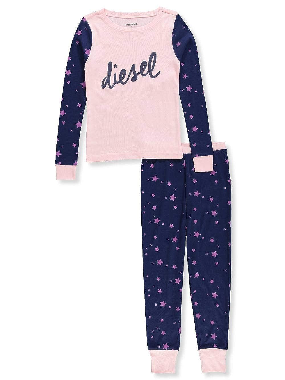 Diesel Girls' 2-Piece Pajama Pant Set