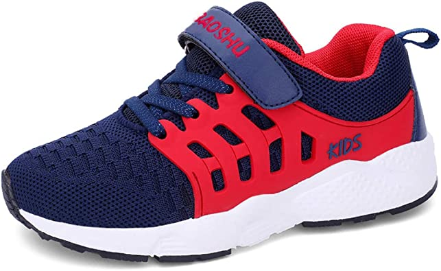 YUHUAWYH Niños Niñas Zapatillas de Deporte Moda para Niñas Zapatillas de Correr Transpirables Unisex para Niños Ligeras Zapatillas Deportivas: Amazon.es: Zapatos y complementos