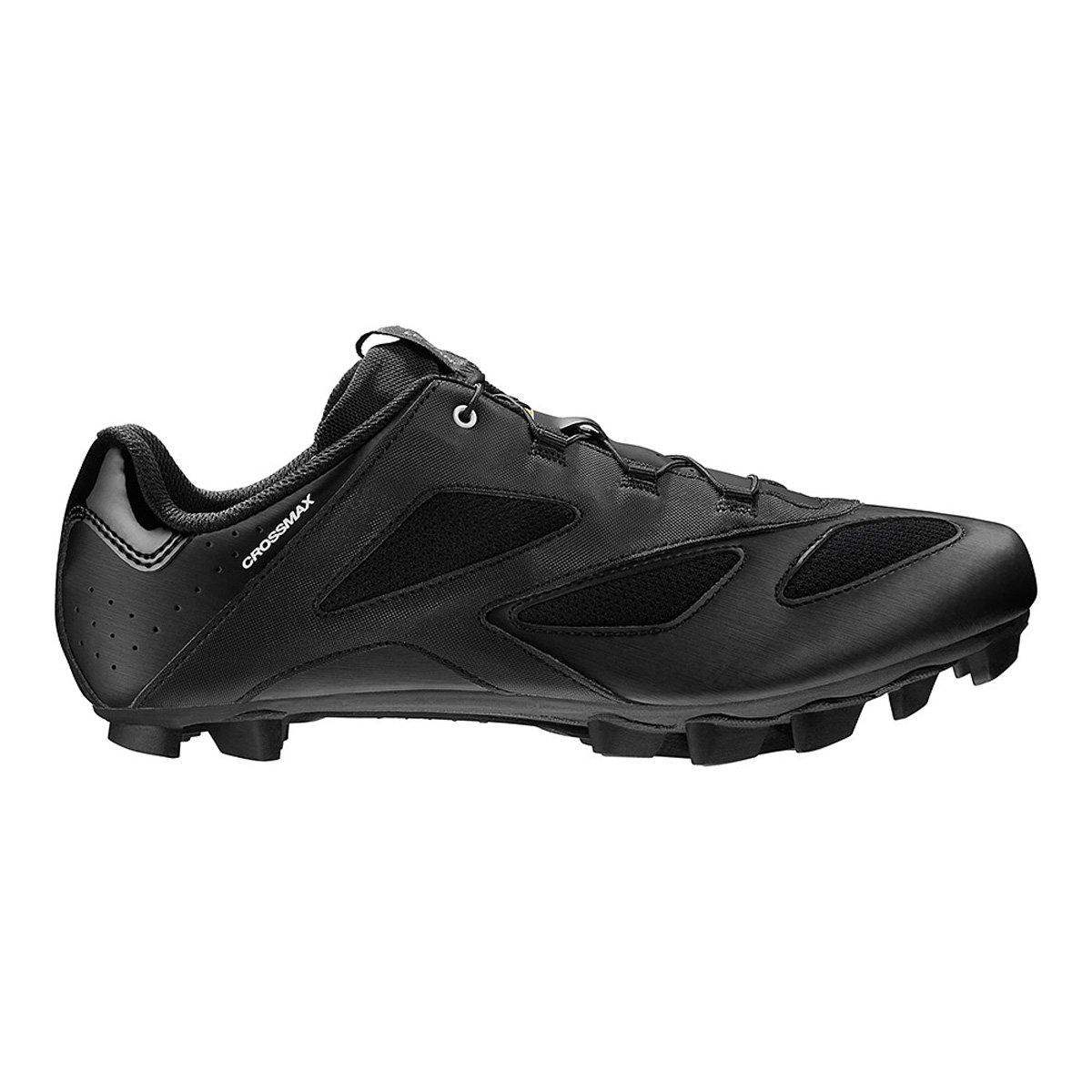 Mavic Crossmax MTB Cycling Shoe – Men 's B01M1UYX0O 13 F(M) UK / 13.5 D(M) US|ブラック ブラック 13 F(M) UK / 13.5 D(M) US