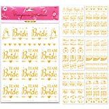 80 Bride & Bachelorette Party Bridal Tattoos - Team Bride Squad Bride Tribe