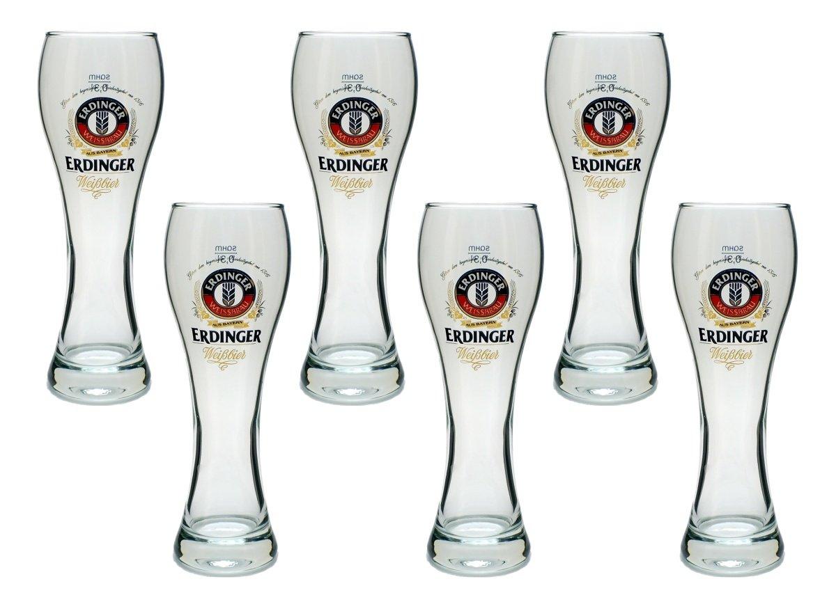 Erdinger Half Pint Beer Glass