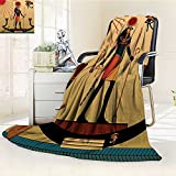 AmaPark Digital Printing Blanket of God Sun Ra Faith Grace Icons Pagan Print Summer Quilt Comforter