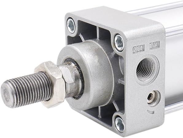 Heschen Pneumatic Standard Cylinder SC 40-75 PT1//4 port 40mm Bore 75mm Stroke Double Acting