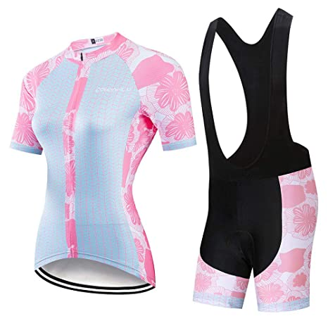 YDJGY Ciclismo Ropa Mujer 2019Ciclismo Conjunto Jersey Traje ...