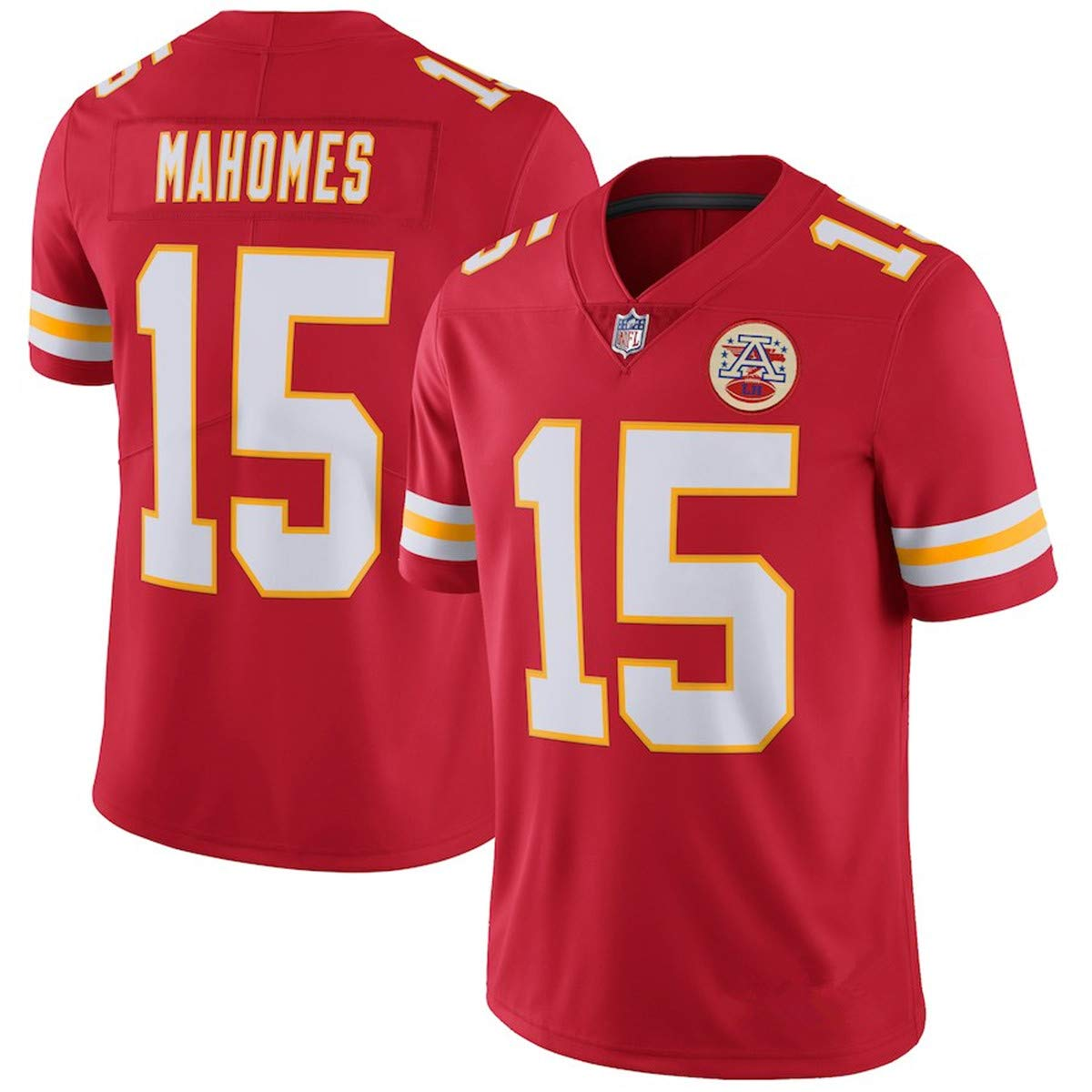 new arrival 568f9 b9fca Outerstuff Youth #15 Kansas City Chiefs Patrick Mahomes Player Jersey Red -  BSA Soar