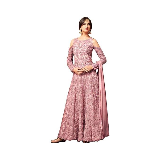Bollywood kaftaan Hijab musulmán vestido de novia de las mujeres vestido indio AnarKali Salwar Kameez traje