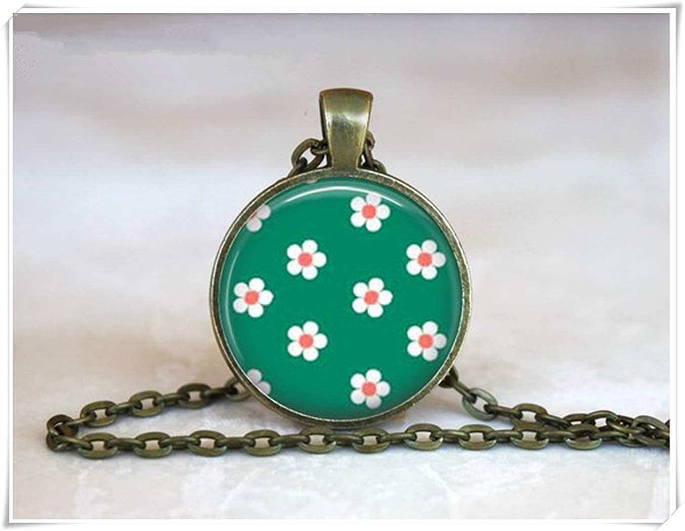 we are Forever family Japanese Cherry Blossom Pendant Necklace
