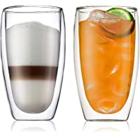 Bodum 4560-10 PAVINA Double Walled Thermo Glasses 0.45 L, Set of 2