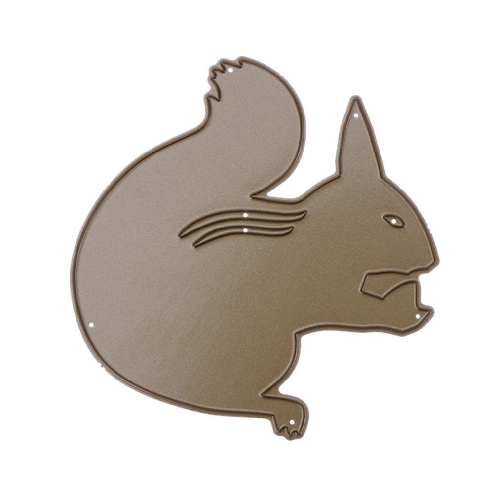 Die tagli, Nelnissa fustella scoiattolo DIY metal stencil scrapbooking Craft goffratura Decor