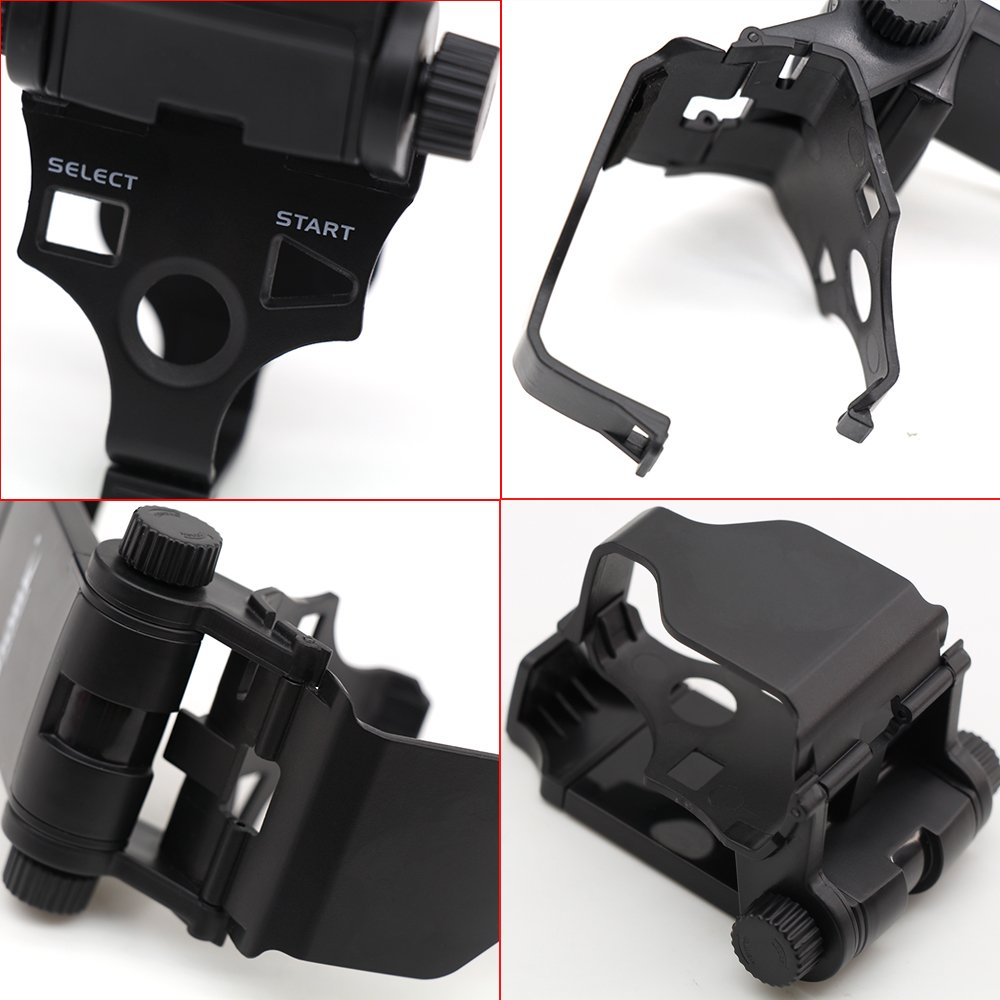 Adjustable Bluetooth Android Mobile Cell Phone Telescopic Gaming Clamp Clip Holder Mount for Playstation 3 PS3 DualShock 3 Controller with D-Pad Cap by Coolbuy112