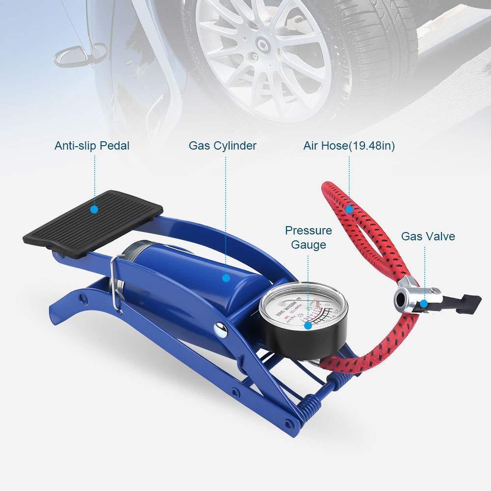 Car Tire Accessories Grilled tire  Machine Accessories Aluminum Single Pedal