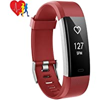Heart Rate Monitor Sleep Monitor 14 Exercise Modes Activity Fitness Tracker Calorie Counter with Call SMS SNS Vibration GPS Route Tracking Step Pedometer IP67 Waterproof