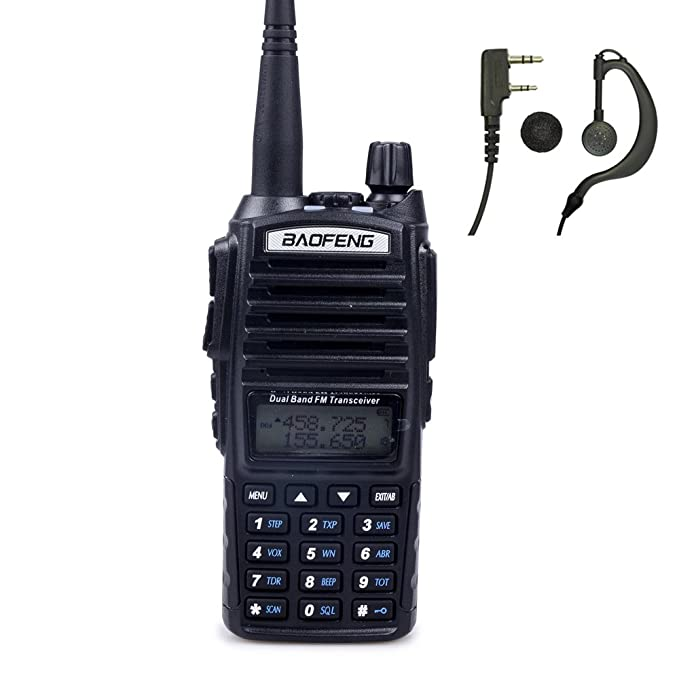 Baofeng UV-82 Two-Way Radio (Black)
