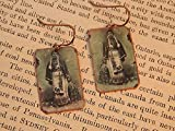 Black History earrings Native American jewelry Black Indians mixed media jewelry