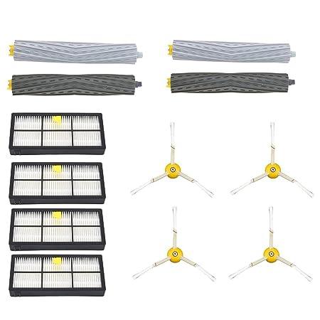 OWSOO Juegos de Accesorios para Aspiradoras para iRobot Roomba 870 880 900: Amazon.es: Bricolaje y herramientas