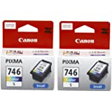 Canon Combo of 2 CL-746s (Small) Ink Cartridge (Color)