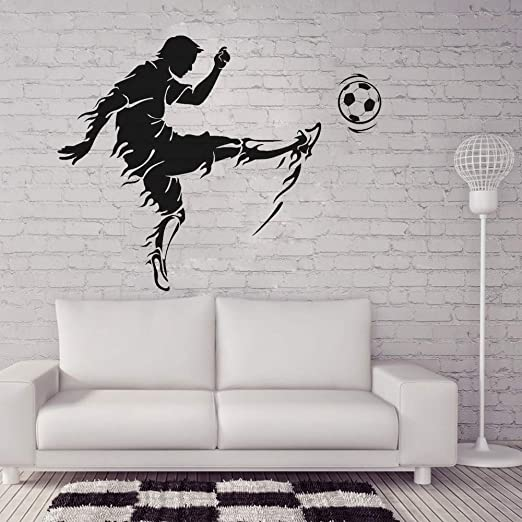 Pegatinas de pared de vinilo para deportes para niños, pegatinas ...