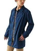 (リピード) REPIDO ステンカラーコート 薄手 メンズ コットン ロング スプリングコート ショップコート