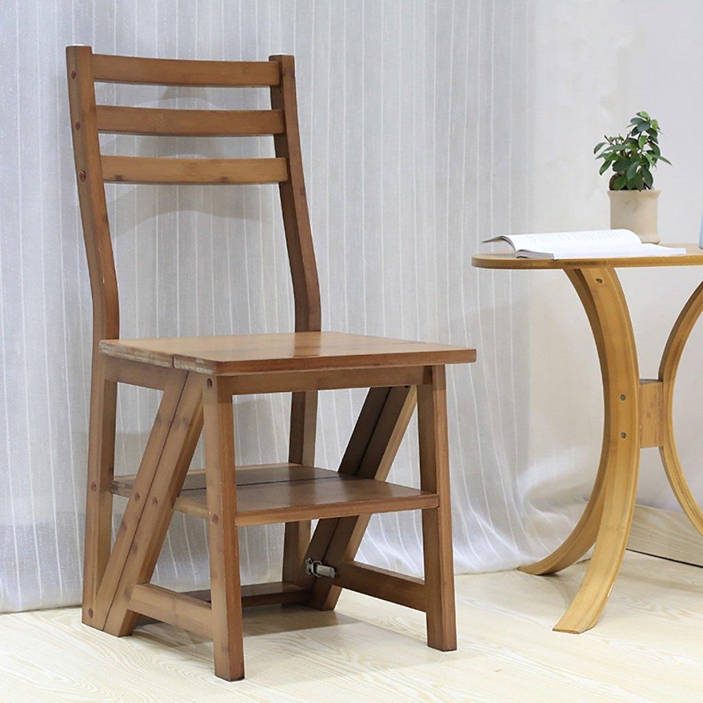 alta qualità generale Scaletta Pieghevole Scaletta Multifunzione Scala a a a Quattro gradini Scala scaletta in bambù  con il 100% di qualità e il 100% di servizio