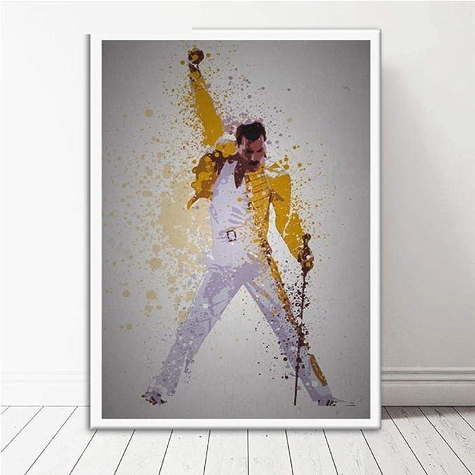 KELDOG Puzzle Jigsaw Puzzles - Queen Freddie Mercury Bohemian Rhapsody Picture, Puzzle de Madera de 1000 Piezas, Rompecabezas para niños/Adultos/niños, para decoración Familiar: Amazon.es: Hogar