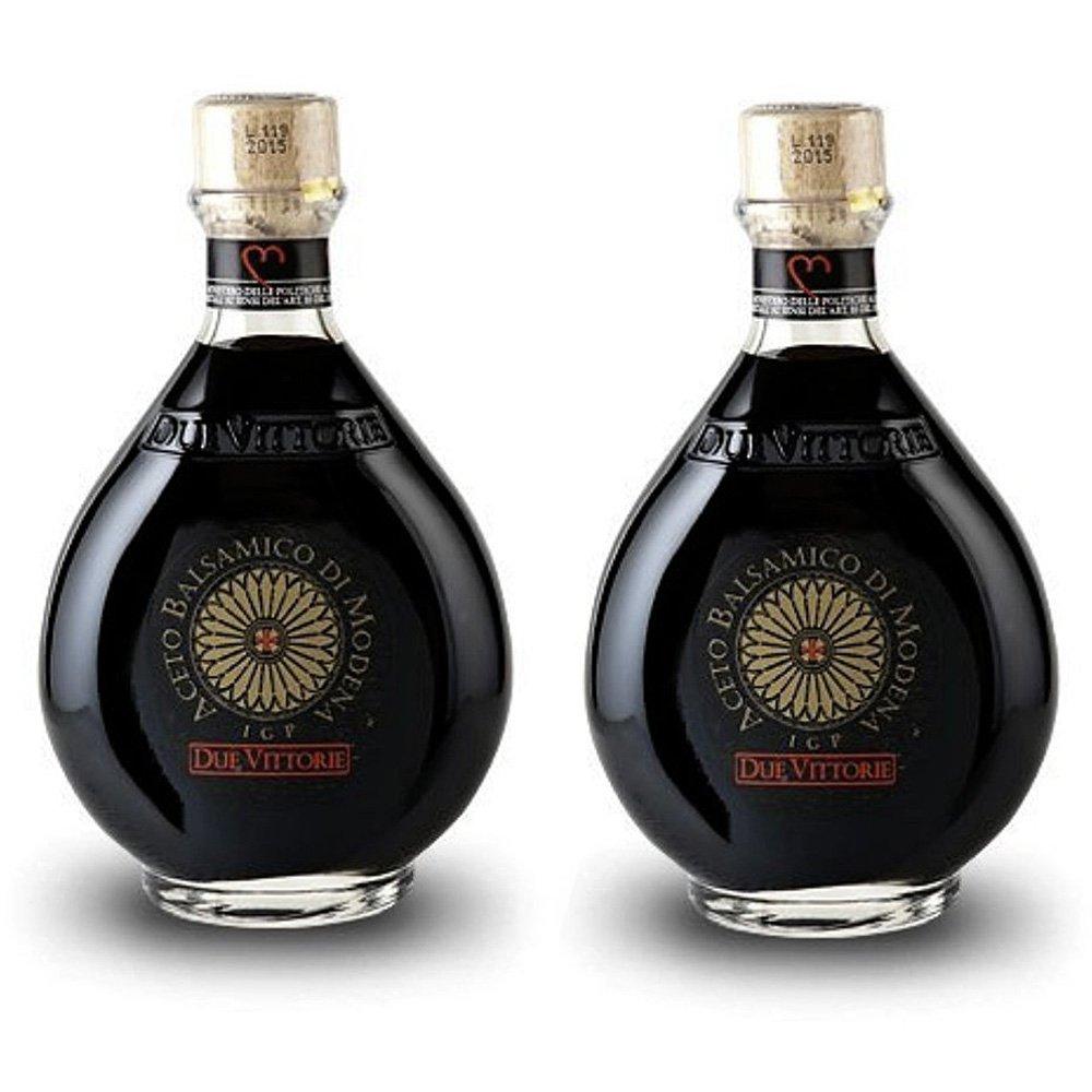 Due Vittorie Oro Gold Balsamic Vinegar - 250ml (Pack of 2)