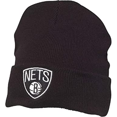 226d6f3461f Mitchell   Ness Mens Brooklyn Nets Beanies (Black
