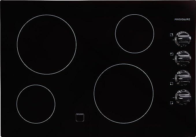 Amazon.com: Frigidaire placa de cocina, Negro: Aparatos