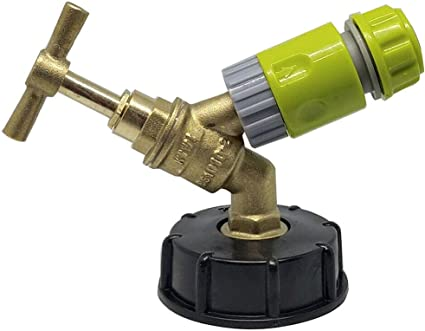 IBC Adapter Connector Hose Lock Water Pipe Tap For Storage Tank Reducer