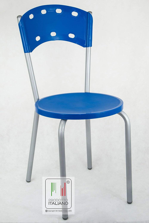 Sedie In Alluminio Per Cucina.Stil Sedie Sedia In Metallo Colore Alluminio Cucina Bar Ristorante