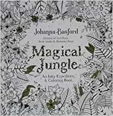 Amazon Magical Jungle An Inky Expedition And Coloring Book For Adults Turtleback School