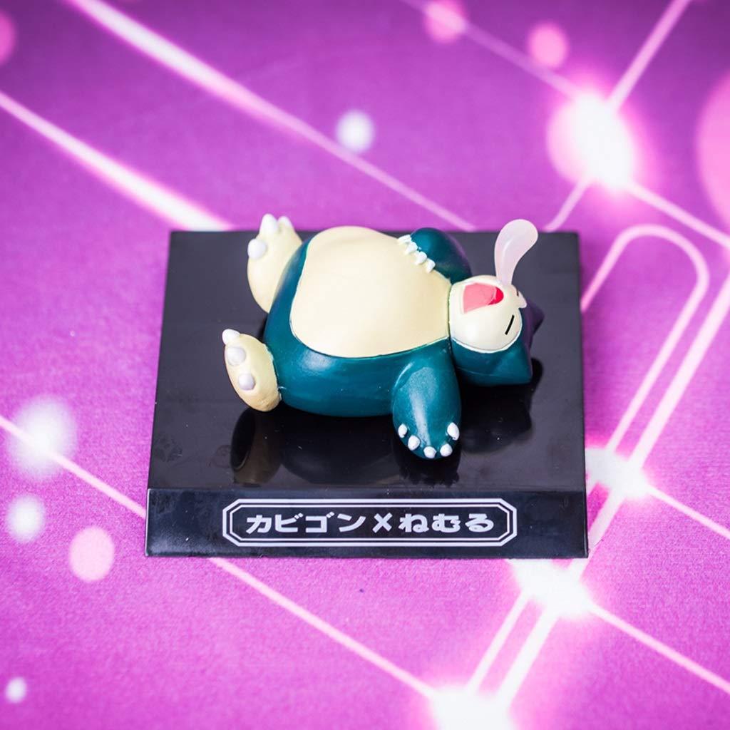 Hyzb Toy Doll Pokemon Modelo de Juguete Elf Treasure Dream Colección de Joyas animadas Artesanía 8CM