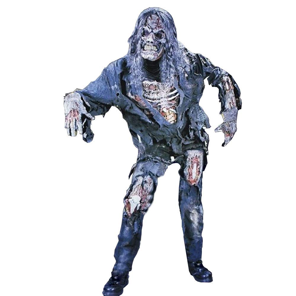 Halloween Adult Horror Demon Zombie-Kostüm Gilt Für Masquerade/Party-Kleid/Cosplay-Kleidung (Eine Größe)