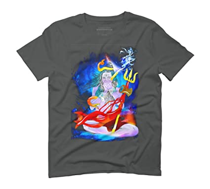 78ef08ba4 Design By Humans Mahakal Men's Graphic T-Shirt: Amazon.co.uk: Clothing