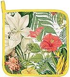 Michel Design Works Cotton Potholder, Vanilla Palm