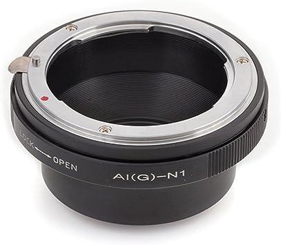 V1 S2 FocusFoto Adapter Ring for Canon EOS EF EF-S Mount Lens to Nikon 1 N1 Mirrorless Camera Body J1 AW1 J3 V3 S1 J4 V2 J5 J2