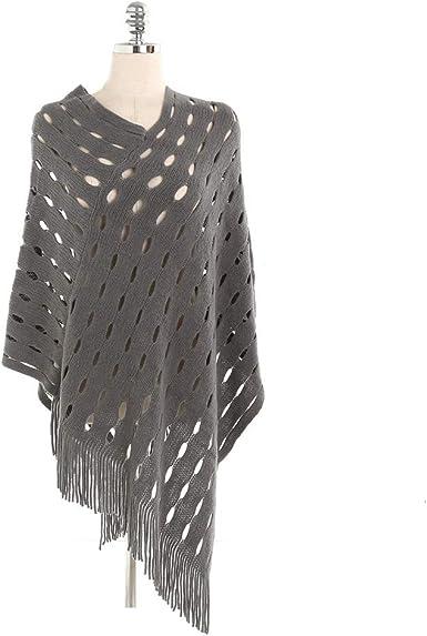 TALLA 175cmmore than. AiNaMei Bufanda caliente de imitación de la moda del mantón de la cachemira del otoño y del invierno de las señoras