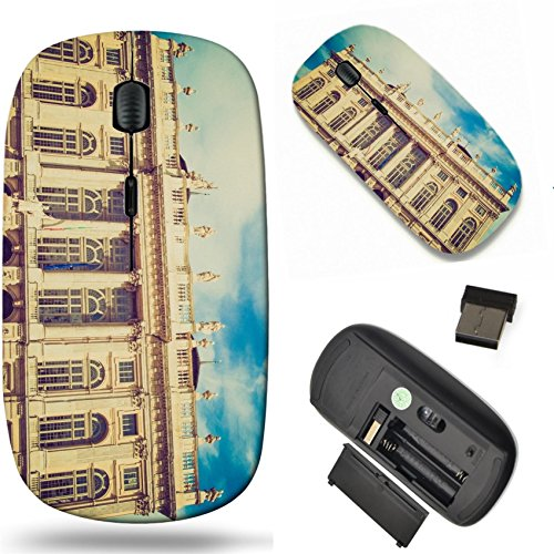 MSD Wireless Mouse Travel 2.4G Wireless Mice with USB Receiver, Noiseless and Silent Click with 1000 DPI for notebook, pc, laptop, computer, mac book design 27411525 Vintage looking Palazzo Madama ()