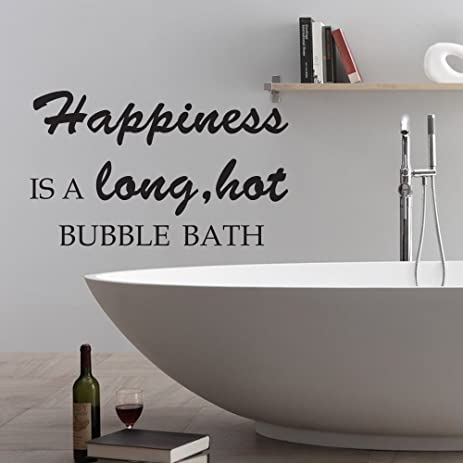Bathroom Quote Wall Sticker Home Decor Bath Rules Art Decals  Transfers-LaoGraphics