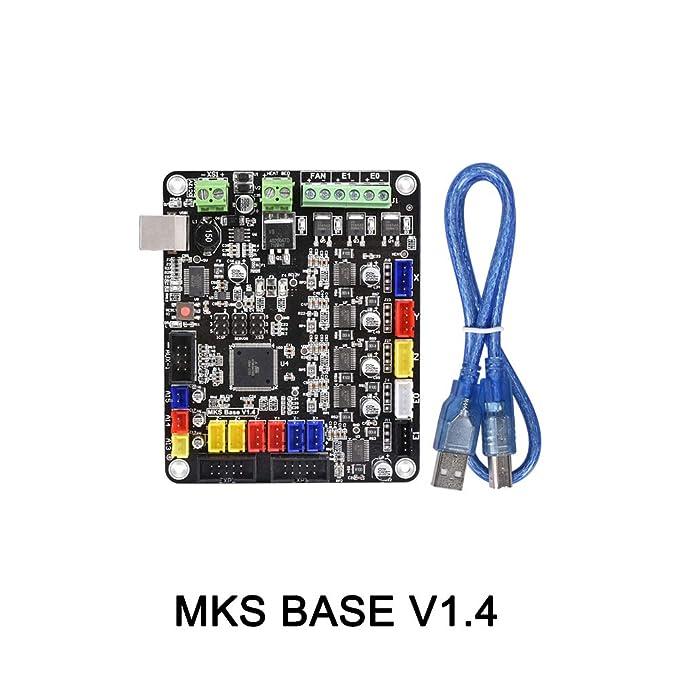 Placa controladora para rampas de impresora 3D 1.4, BIQU MKS-BASE ...