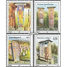 Yugoslavia 2688-2691 (complete.issue.) 1994 Museum Exhibits (Stamps for collectors)