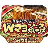 日清食品 デカうま Wマヨソース焼そば 153g×12個